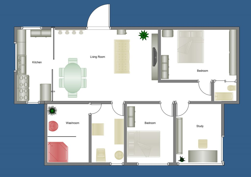 floor plan new home